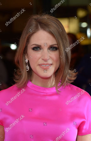 """Amy Huberman arrives at the UK Screening of """"The Stag"""" at Vue Cinema in London on Thursday, March. 13th, 2014"""