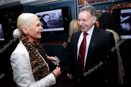 Unite4:good founder Anthony Melikhov converses with Michele Herbert as unite4:good kicks off the coalition4:good at SoHo House NY, in New York