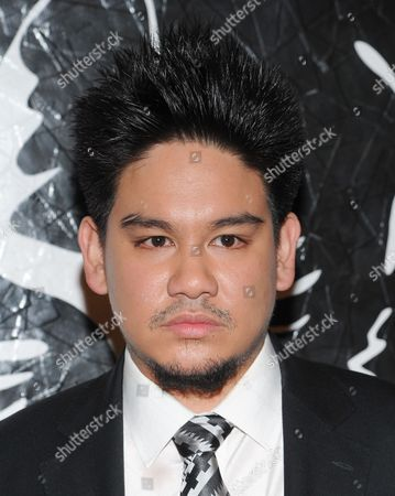 Prince Azim of Brunei attends the Versus Versace and Capsule Collection fashion show at the 69th Regiment Armory on in New York