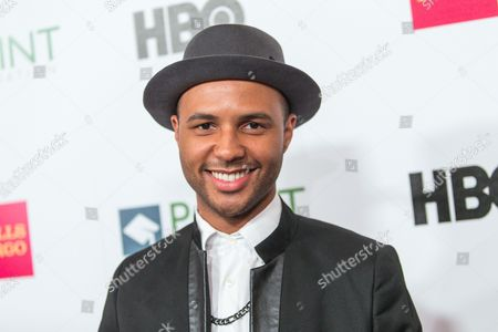 Rayvon Owen attends the Voices on Point Gala at the Hyatt Regency Century City on in Los Angeles