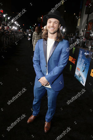 Louie Vito seen at Warner Bros. Pictures and Alcon Entertainment present 'Point Break' at TCL Chinese Theatre, in Hollywood, CA