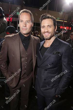 Bojesse Christopher and Edgar Ramirez seen at Warner Bros. Pictures and Alcon Entertainment present 'Point Break' at TCL Chinese Theatre, in Hollywood, CA