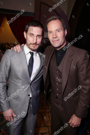 Exclusive - Clemens Schick and Bojesse Christopher seen at Warner Bros. Pictures and Alcon Entertainment present 'Point Break' at TCL Chinese Theatre, in Hollywood, CA