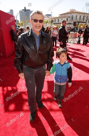 Stock Photo of Warner Bros.' Barry Meyer seen at Warner Bros. Pictures Los Angeles Premiere of 'The Lego Movie', on in Los Angeles