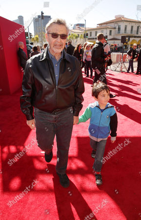 Stock Image of Warner Bros.' Barry Meyer seen at Warner Bros. Pictures Los Angeles Premiere of 'The Lego Movie', on in Los Angeles