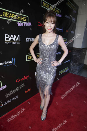 """Stock Photo of Sue Son seen at Wonder Vision Presents """"Seoul Searching"""" Premiere, in Los Angeles, CA"""