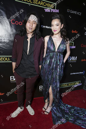 "Justin Chon and Jessika Van seen at Wonder Vision Presents ""Seoul Searching"" Premiere, in Los Angeles, CA"