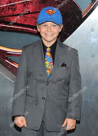 """Actor Cooper Timberline attends the """"Man Of Steel"""" world premiere at Alice Tully Hall on in New York"""