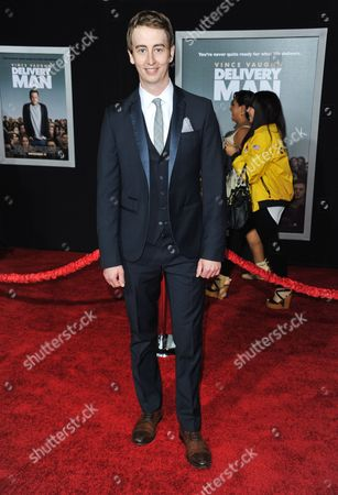 "Stephen Ellis arrives at the world premiere of ""Delivery Man"" at The El Capitan Theatre on in Los Angeles"