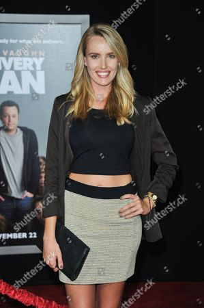 """Editorial photo of World Premiere of """"Delivery Man"""" - Arrivals, Los Angeles, USA"""