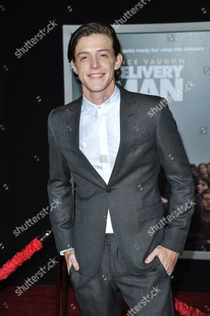 "Dave Patten arrives at the world premiere of ""Delivery Man"" at The El Capitan Theatre on in Los Angeles"