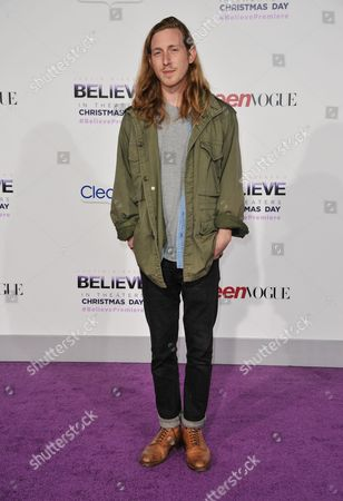 "Asher Roth arrives at the World Premiere of ""Justin Bieber's Believe"" at Regal Cinemas L.A. Live on in Los Angeles"
