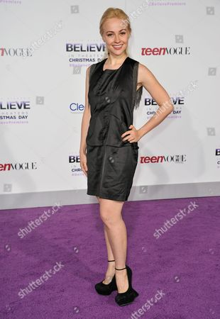 """Elena Bugaeva arrives at the World Premiere of """"Justin Bieber's Believe"""" at Regal Cinemas L.A. Live on in Los Angeles"""