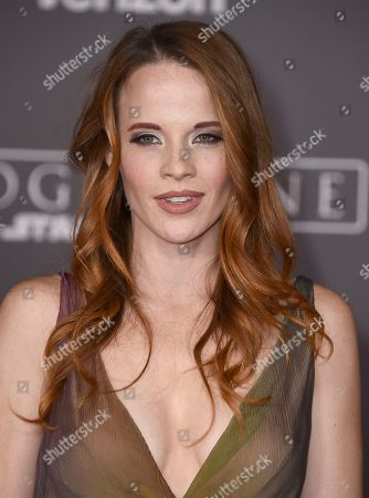 """Editorial image of World Premiere of """"Rogue One: A Star Wars Story"""" - Arrivals, Los Angeles, USA"""