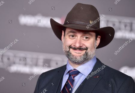 """Dave Filoni arrives at the world premiere of """"Rogue One: A Star Wars Story"""" at the Pantages Theatre, in Los Angeles"""
