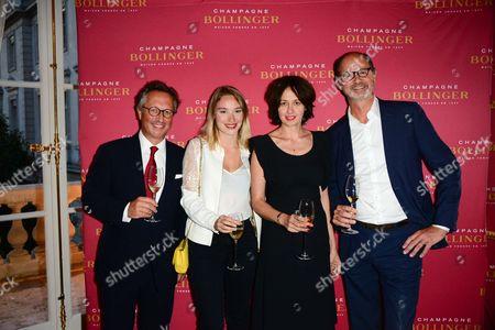 Jerome Philipon, Deborah Francois, Valerie Bonneton, Aymeric De Maistre