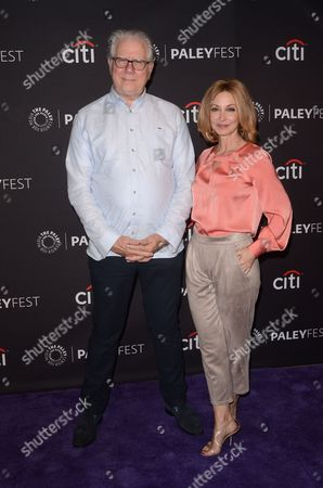 Stock Image of John Larroquette and Sharon Lawrence