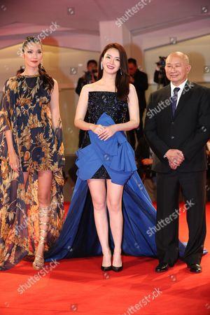 Tao Okamoto, Qi Wei and John Woo