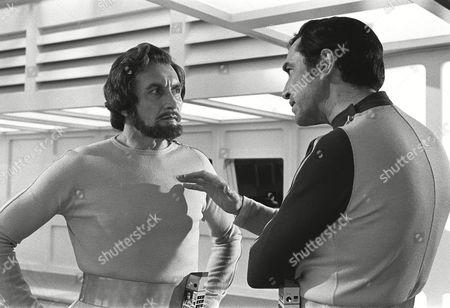 Roy Dotrice and Martin Landau