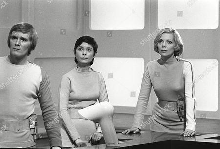 Christopher Matthews, Zienia Merton and Barbara Bain