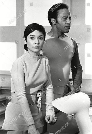 Stock Photo of Zienia Merton and Lon Satton