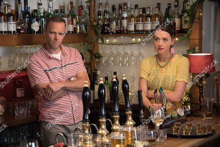 (SR8: Ep3) - Joe Absolom as Al Large and Jessica Ransom as Morwenna Newcross.