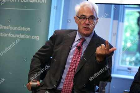 Stock Photo of Lord Alistair Darling
