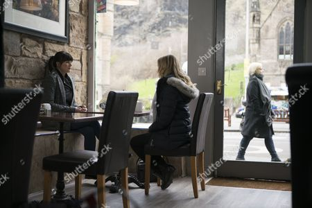 (Ep4) - Joanne Froggatt as Laura Nielson and Dawn Steele as Catherine McAuley.