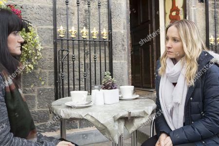(Ep4) - Joanne Froggatt as Laura Nielson and Dawn Steele as Catherine Macauley.