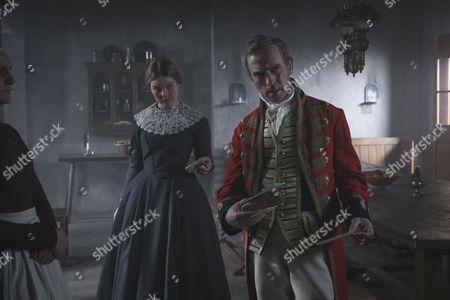 (SR2: Ep6) - Adrian Schiller as Penge and Nell Hudson as Skerrett.
