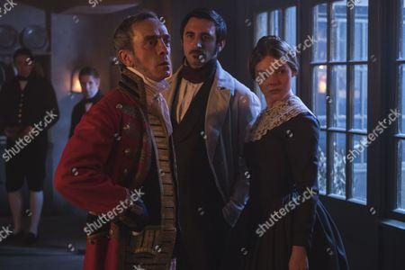(SR2: Ep6) - Adrian Schiller as Penge, Ferdinand Kingsley as Francatelli and Nell Hudson as Skerrett.