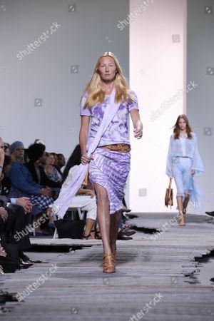 Editorial image of Michael Kors show, Runway, Spring Summer 2018, New York Fashion Week, USA - 13 Sep 2017