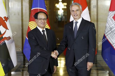 Didier Burkhalter and Le Luong Minh
