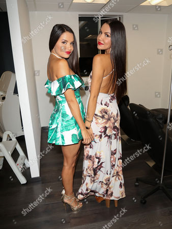 Stock Picture of Shannon Baker and Shauna Baker