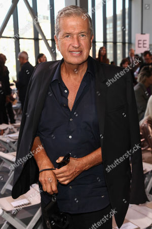 Mario Testino attends the NYFW Spring/Summer 2018 Michael Kors fashion show, in New York