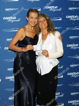 Editorial photo of Cantor Charity Day, New York, USA - 11 Sep 2017