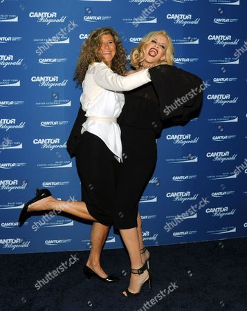 Stock Picture of Jenny McCarthy, Edie Lutnick