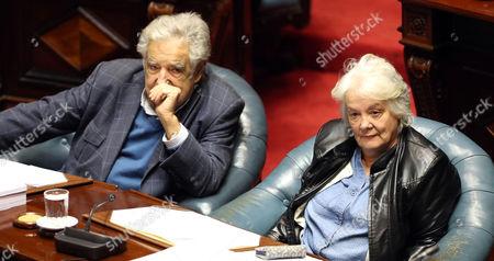Lucia Topolansky and Jose Mujica