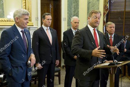 Bill Cassidy, Dean Heller and Rick Santorum