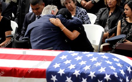 Editorial photo of Harvey Officer Funeral, Houston, USA - 13 Sep 2017