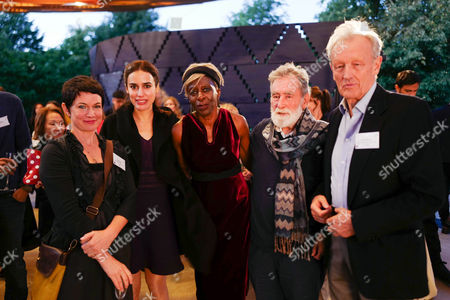 Editorial image of Man Booker Shortlist Party, Serpentine Gallery, London, UK 13 Sep 2017
