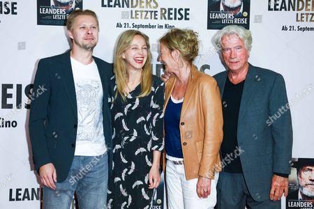 Tambet Tuisk, Petra Schmidt-Schaller, Suzanne of Borsody and Juergen Prochnow