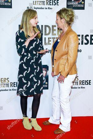 Petra Schmidt-Schaller and Suzanne of Borsody