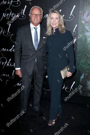 Karl Wellner and Deborah Norville