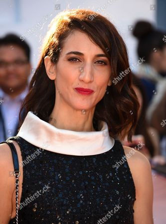 """Director Deniz Gamze Erguven attends the premiere for """"Kings"""" on day 7 of the Toronto International Film Festival, at Roy Thomson Hall, in Toronto"""