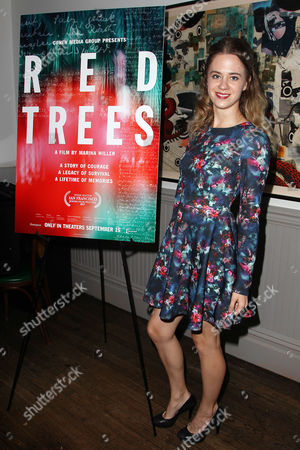 Editorial photo of Cohen Media Group Presents a Reception Celebrating the New York Premiere of 'RED TREES', USA - 13 Sep 2017