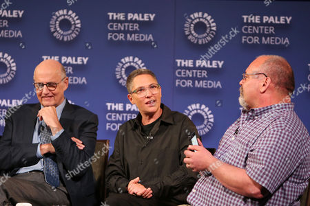 Stock Image of Jeffrey Tambor, Jill Soloway, Larry Flick