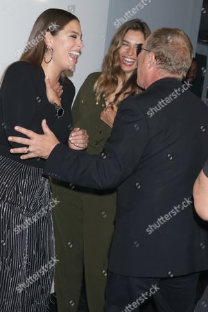 Ashley Graham, Andreea Diaconu and Michael Kors