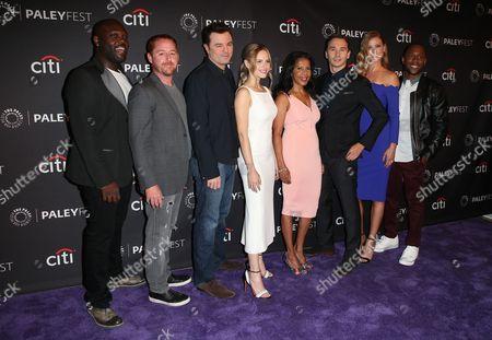 Stock Image of Mark Jackson, Scott Grimes, Seth MacFarlane, Halston Sage, Penny Johnson, Adrianne Palicki, J. Lee