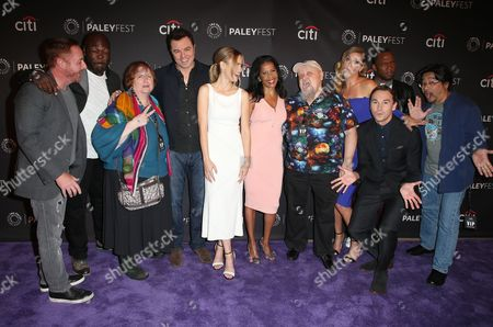 Editorial photo of 'The Orville' presentation, PaleyFest, Arrivals, Los Angeles, USA - 13 Sep 2017